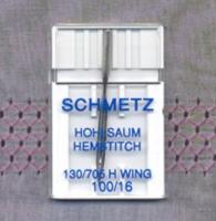 Hemstitch/Wing Needle - Size 100/16 (Schmetz)