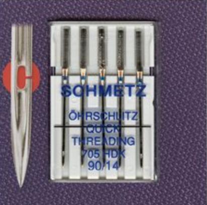 Quick Threading Needles - Size 90/14 (Schmetz)