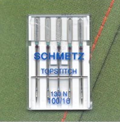Topstitch Needles - Size 100/16 (Schmetz)