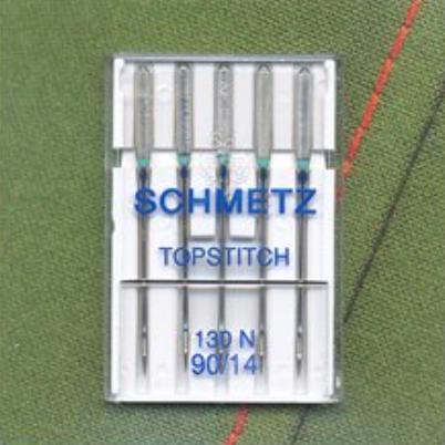 Topstitch Needles - Size 90/14 (Schmetz)