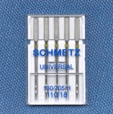 Universal Needles - Size 110/18 (Schmetz)