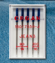 Jeans Needles - Mixed Size Pack (Organ)