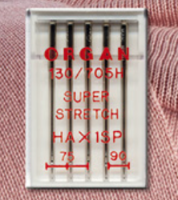 Super Stretch Needles - Mixed Size Pack (Organ)