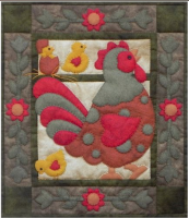 Spotty Rooster - Miniature Quilt Kit