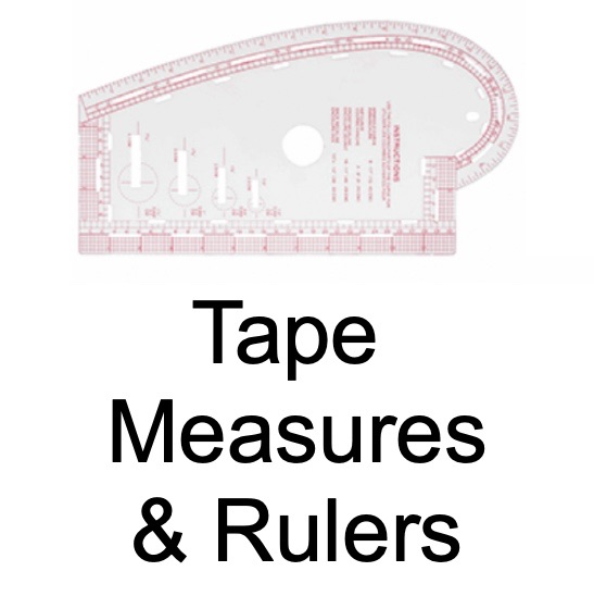 Tape Measures, Rulers & Gauges