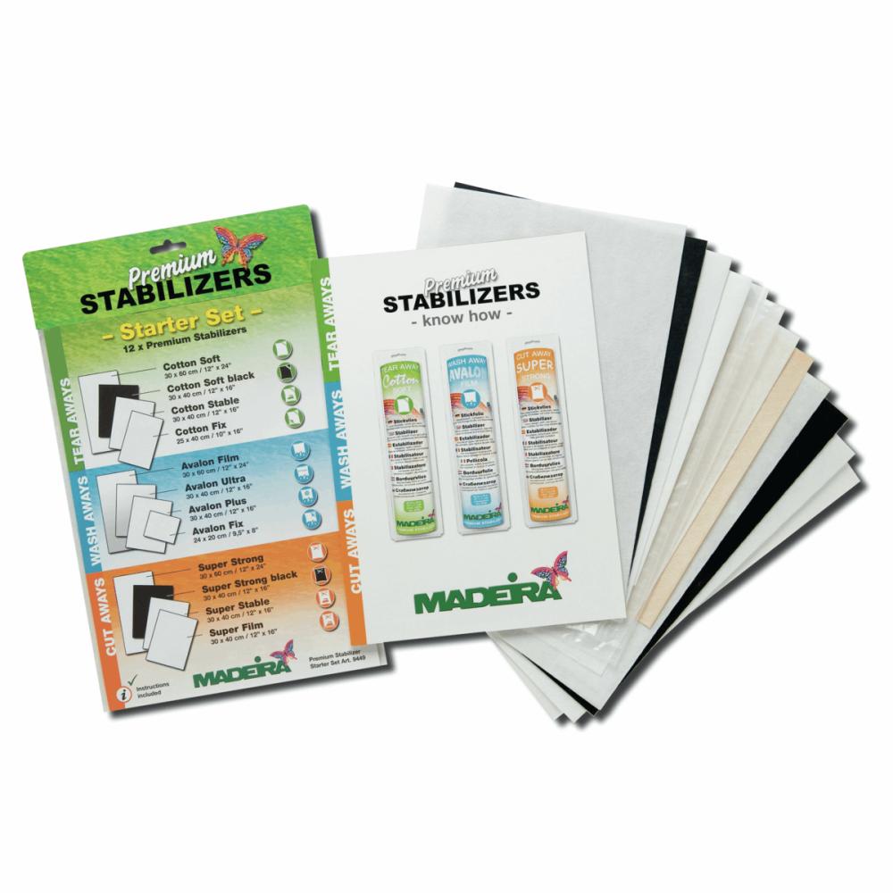 Madeira Premium Stabiliser Starter Set