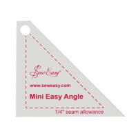 "Mini Easy Angle Template - 2.5"" x 2.87"" (Sew Easy)"