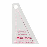 "Mini Recs Template - 2.5"" x 1.66"" (Sew Easy)"