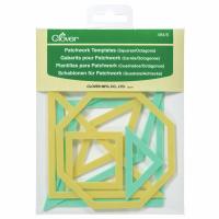 Patchwork Templates - Squares / Octagons (Clover)