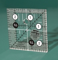 "Patchwork Ruler - 2 ½"" x 2 ½"" (Creative Grids)"
