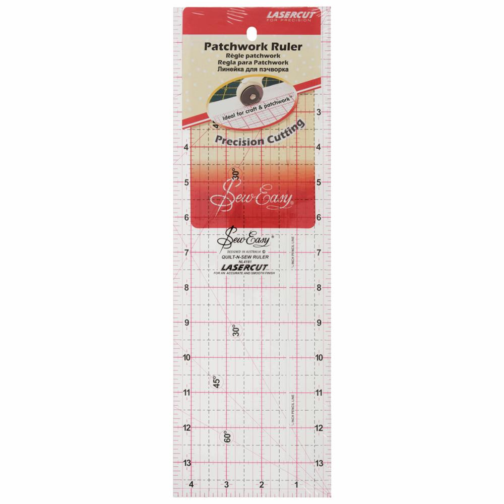 Patchwork Ruler - 4 ½
