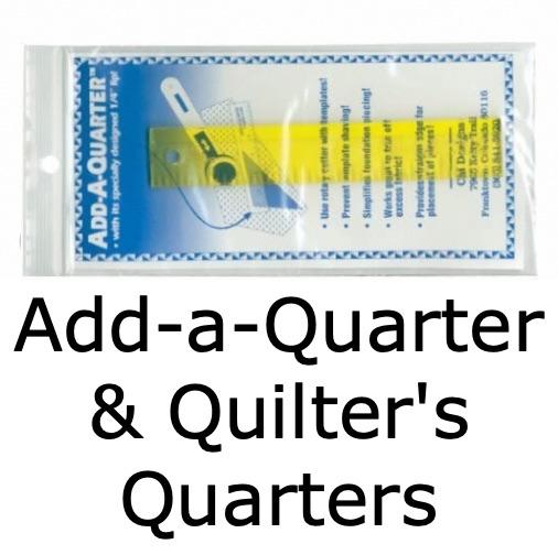 Add-A-Quarter & Quilter's Quarters