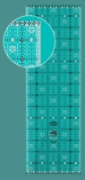 """Charming Itty Bitty Eights Quilt Ruler - 5"""" x 15"""" (Creative Grids)"""