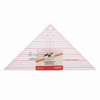 """90º Triangle Ruler - 7 ½"""" x 15 ½"""" (Sew Easy)"""