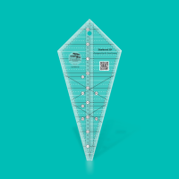 "Starburst 30° Triangle Ruler - 9 ½"" (Creative Grids)"
