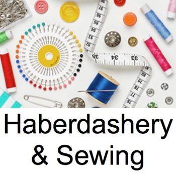 <!-- 020 -->Haberdashery & Sewing Supplies