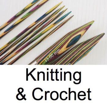 <!-- 030 -->Knitting & Crochet
