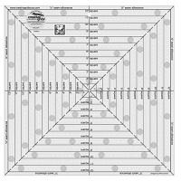 "Square It Up & Fussy Cut Ruler - 12 ½"" x 12 ½"" (Creative Grids)"
