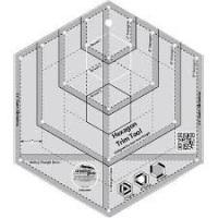 Hexagon Trim Tool Ruler (Creative Grids)