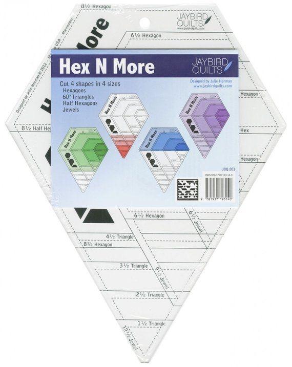 Hex N More Ruler (Jaybird Quilts)