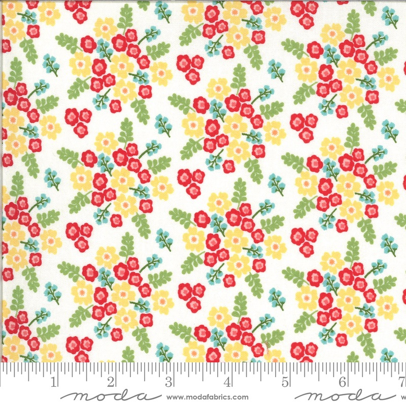 Moda - Homestead - Wildflowers - 24092 11 (Multi)