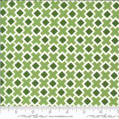 Moda - Homestead - Fancy Tile - 24095 14 (Leaf)