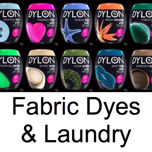 Fabric Dyes & Laundry
