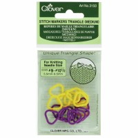 Stitch Markers - Triangle - Sizes 5.50mm - 6.50mm (Clover)