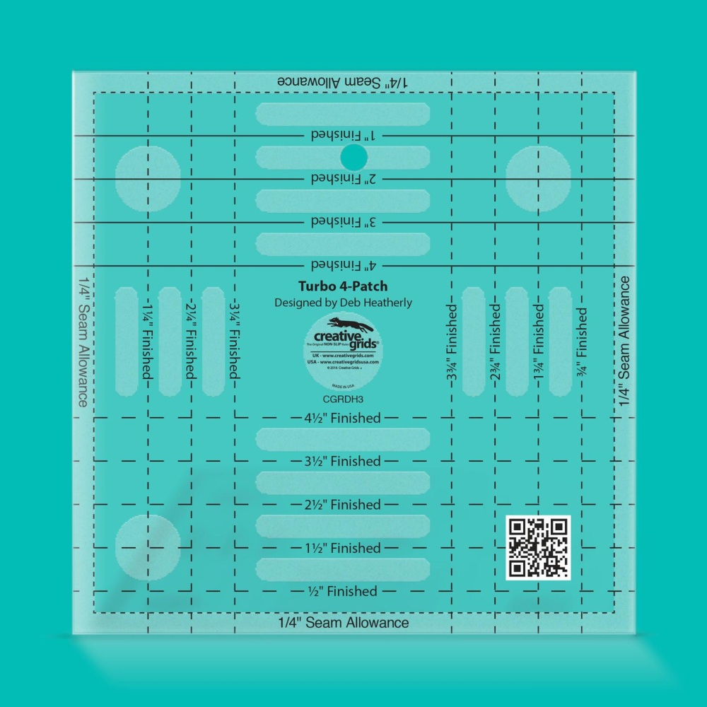 Turbo 4-Patch Ruler (Creative Grids)