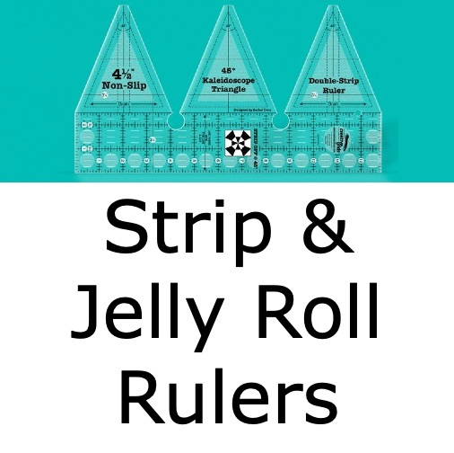 Strip & Jelly Roll Rulers