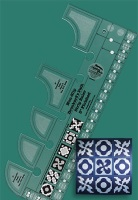 Drunkard's Path Strip Ruler (Creative Grids)