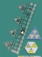 60° Triangle Single Strip Ruler (Creative Grids)