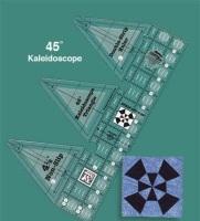 45° Double-Strip Kaleidoscope Ruler (Creative Grids)