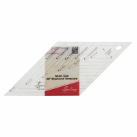 45° Diamond Template - Multi Size (Sew Easy)