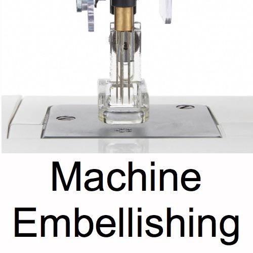 Machine Embellishing