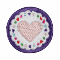 Motif - Circle Heart