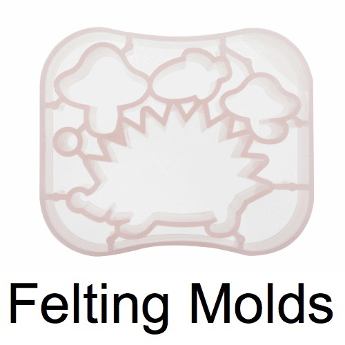 Hand Felting Molds