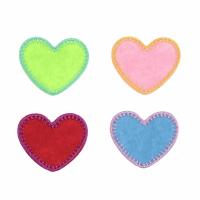 Motif - 4 Hearts