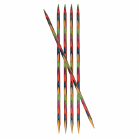 Double-Ended Knitting Pins - Birchwood - 4.00mm x 15cm - Set of Five (KnitPro Symfonie)