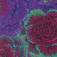 Brassica - Purple - PWPJ051.PURPL - Kaffe Fassett Collective