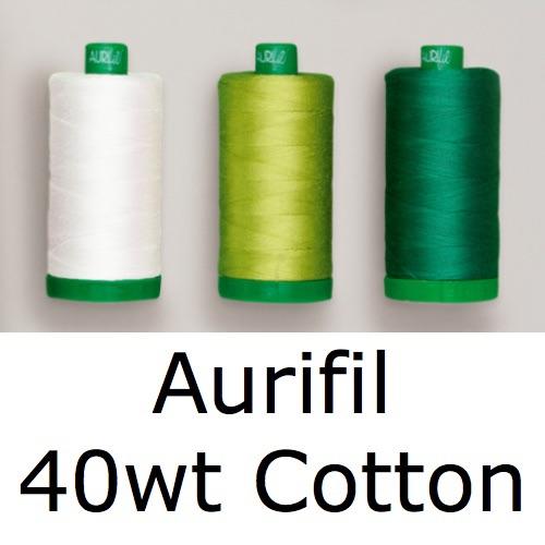 <!-- 005 -->Aurifil Cotton 40wt