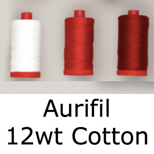 <!-- 015 -->Aurifil Cotton 12wt