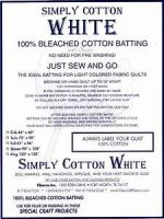 Simply Cotton - Bleached