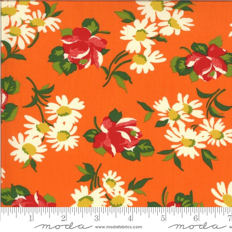 Moda - It's Elementary - Garden Blooms - 21783  13 (Orange)