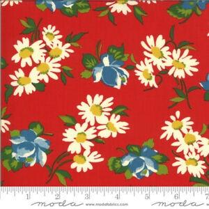 Moda - It's Elementary - Garden Blooms - 21783  12 (Red)