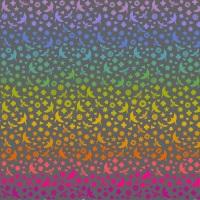 <!--20210201-->Makower - Alison Glass - Art Theory - Seventy Six Bird and Bee - 9699C (Night)