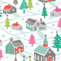 Dashwood Studios - Christmas Dreams - Village Scene - No. CHDR 1108 (Multi)