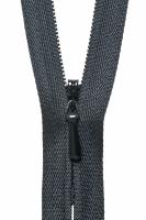 Concealed Zip - 20cm / 8in - Black