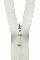 Concealed Zip - 23cm / 9in - Cream