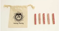 Moda - Christmas Clothes Pins - Merry Merry